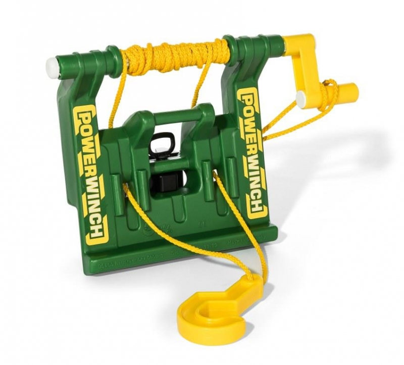 Rollytoys Powerwinch groen voor alle Farmtracs en X-Tracs